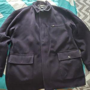 Polo ralph Lauren wool jacket coat xl blue